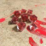 Hemophage Resin Dice Set